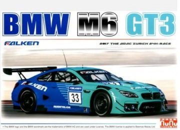 BMW M6 GT3 - 24002 - Nunu Model Kit